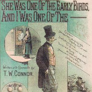 George Beauchamp, She Was One Of The Early Birds, Piano, Vocal & Guitar (Right-Hand Melody)