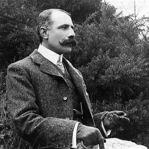 Edward Elgar, Serenade For Strings Op.20 (Larghetto), Easy Piano