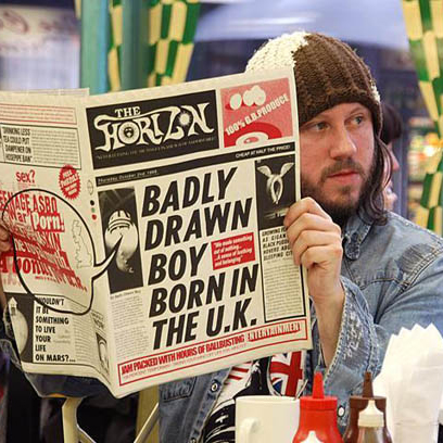Badly Drawn Boy, Journey From A To B, Piano, Vocal & Guitar