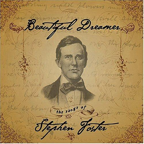 Stephen Foster, Beautiful Dreamer, Piano, Vocal & Guitar (Right-Hand Melody)