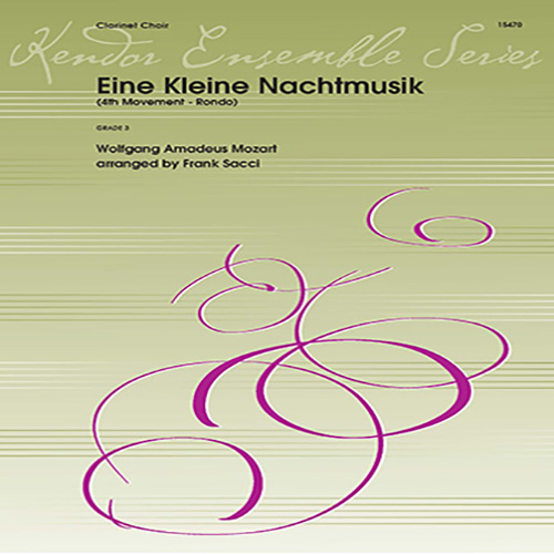 Wolfgang Mozart, Eine Kleine Nachtmusik/Rondo (Mvt. 4) (arr. Frank Sacci) - Full Score, Woodwind Ensemble