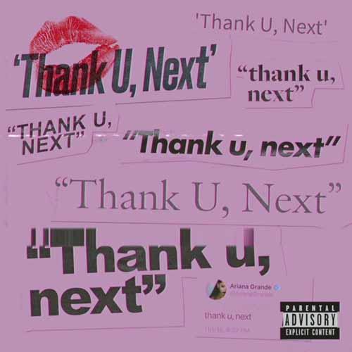 Ariana Grande, Thank U, Next, Piano, Vocal & Guitar (Right-Hand Melody)