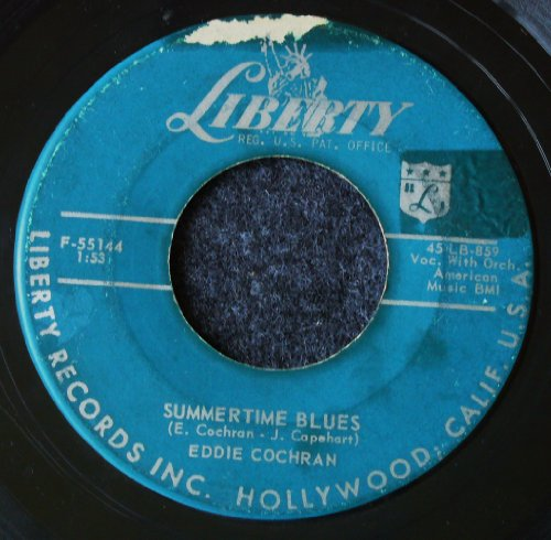 Eddie Cochran, Summertime Blues, Lyrics & Chords
