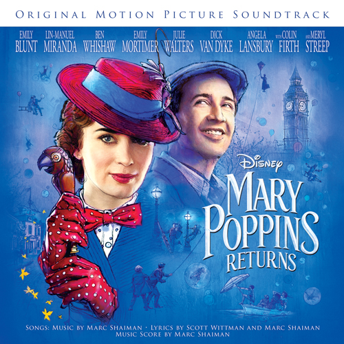 Meryl Streep & Company, Turning Turtle (from Mary Poppins Returns), Piano, Vocal & Guitar (Right-Hand Melody)