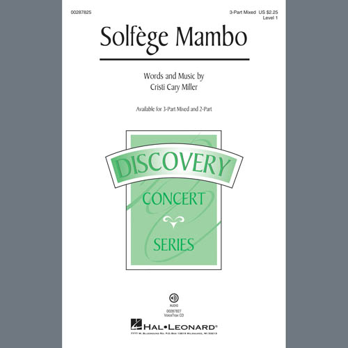 Cristi Cary Miller, Solfege Mambo, 3-Part Mixed Choir
