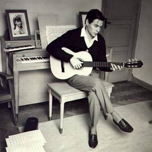 Antonio Carlos Jobim, Dindi, Piano, Vocal & Guitar (Right-Hand Melody)