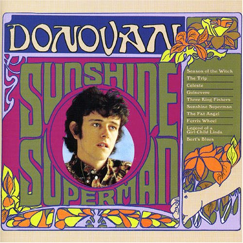 Donovan, Sunshine Superman, Piano, Vocal & Guitar (Right-Hand Melody)