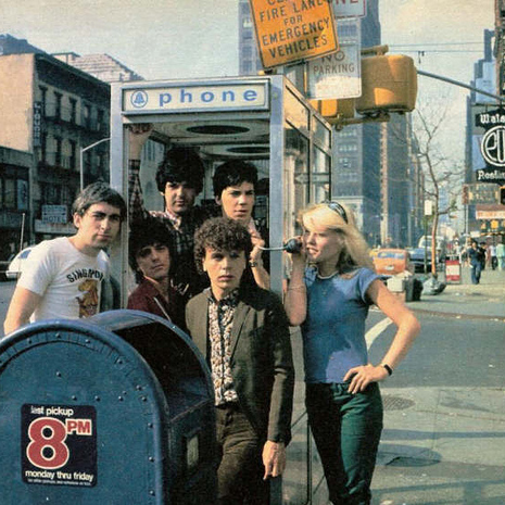 Blondie, (I'm Always Touched By Your) Presence Dear, Piano, Vocal & Guitar (Right-Hand Melody)