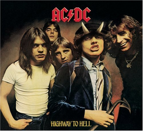AC/DC, Highway To Hell, Piano, Vocal & Guitar