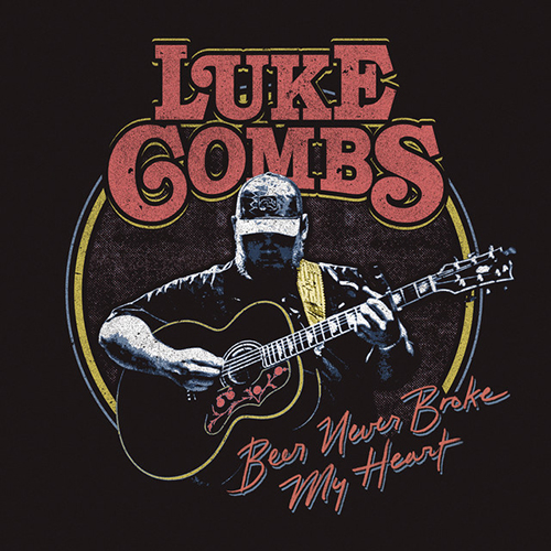 Luke Combs, Beer Never Broke My Heart, Piano, Vocal & Guitar (Right-Hand Melody)