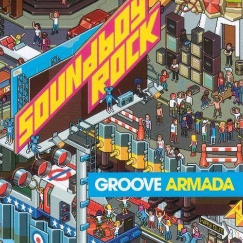 Groove Armada, Song 4 Mutya (Out Of Control) (feat. Mutya Buena), Piano, Vocal & Guitar