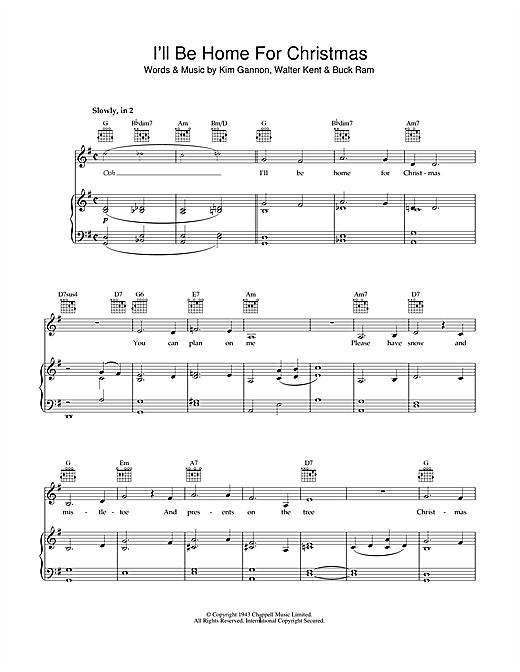 Ill Be Home For Christmas Sheet Music.Bob Dylan I Ll Be Home For Christmas Sheet Music Notes Chords Download Printable Piano Vocal Guitar Right Hand Melody Sku 49191