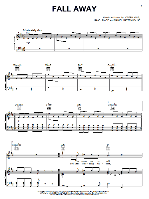 Magnificent The Fray Piano Chords Sketch - Song Chords Images - apa ...