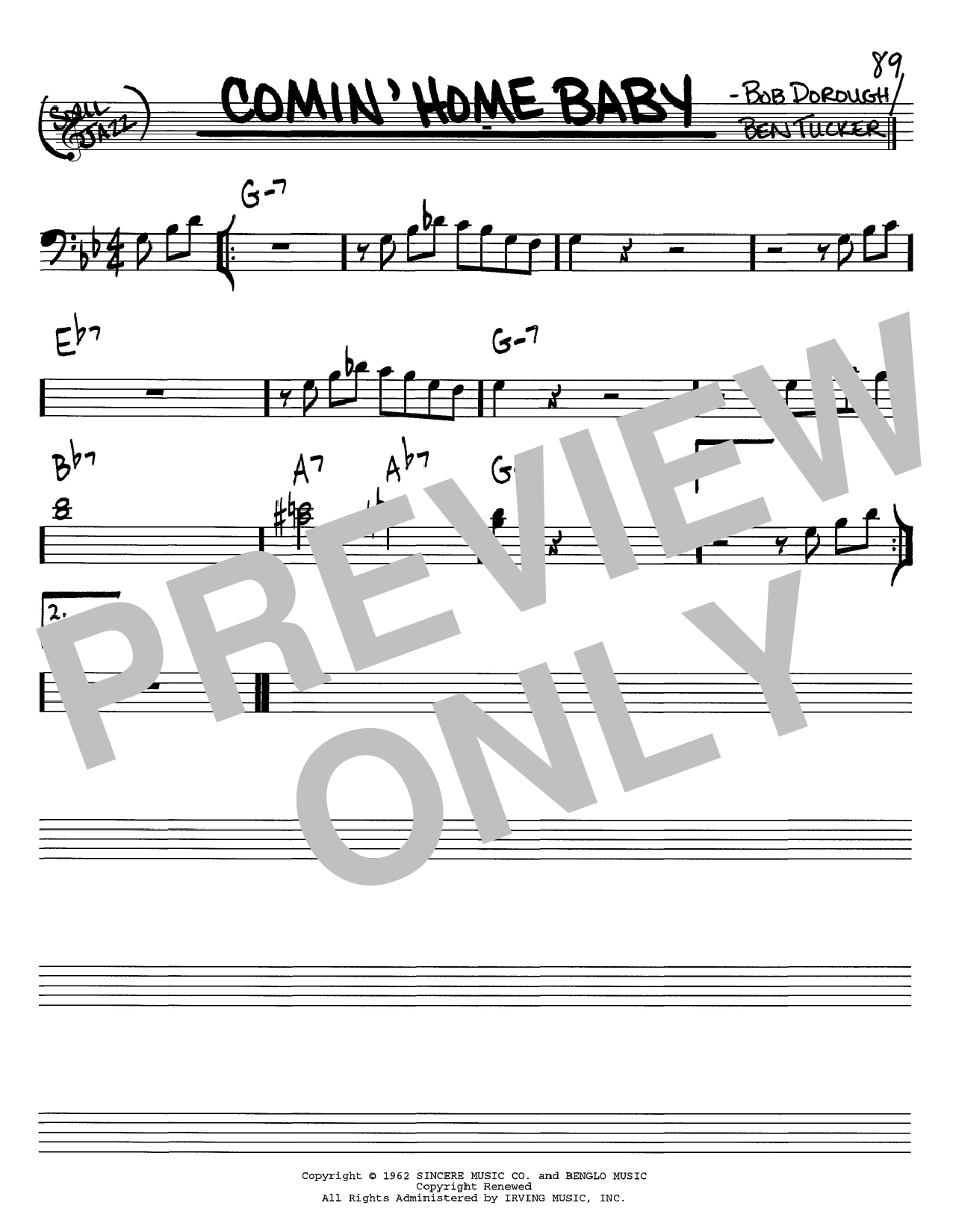 Michael Buble Comin Home Baby Sheet Music Notes Chords