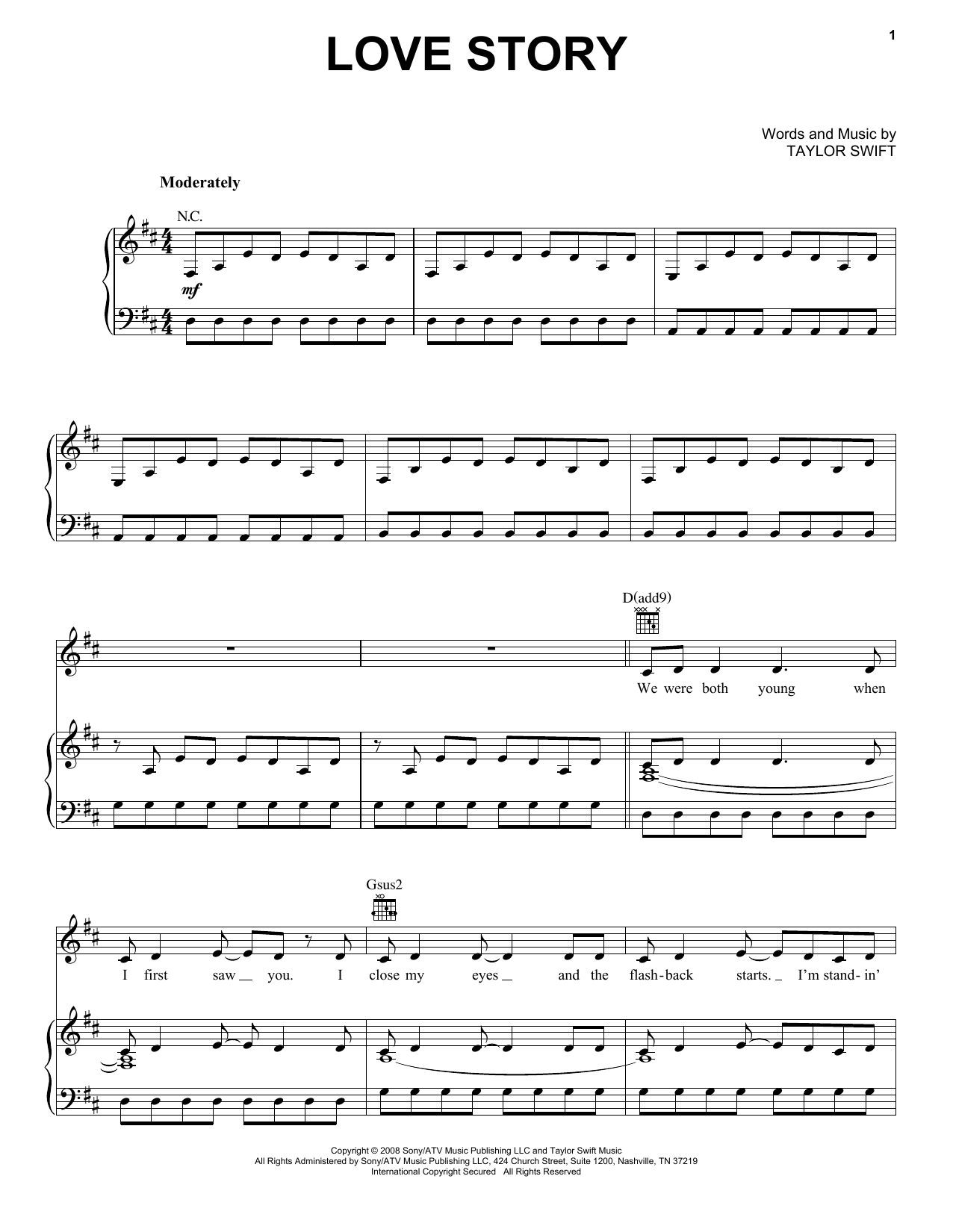 Taylor Swift White Horse Lyrics And Guitar Chords Idea Gallery