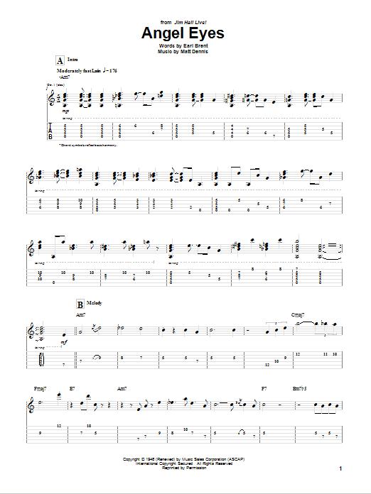 Fancy Angel Eyes Guitar Chords Gift - Basic Guitar Chords For ...