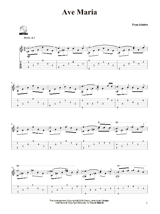 Franz Schubert Ave Maria Sheet Music Notes Chords Printable