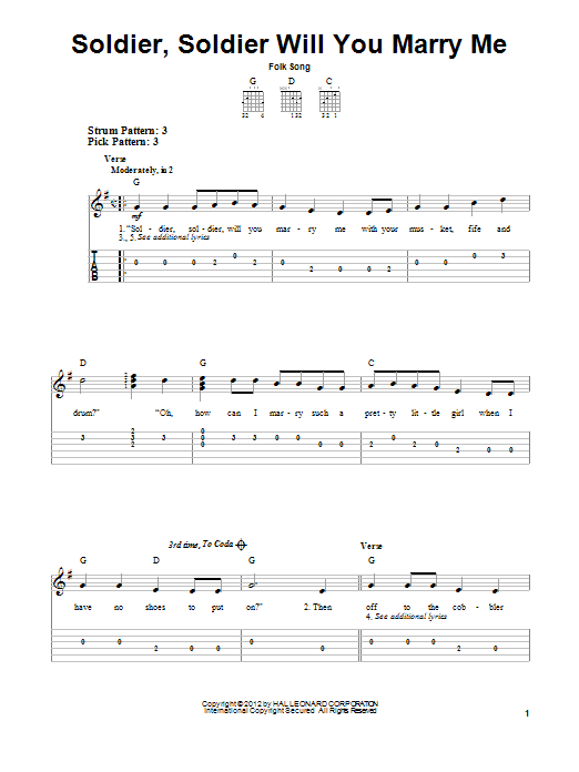 Folk Song \