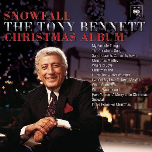 Tony Bennett, Snowfall, Piano (Big Notes)