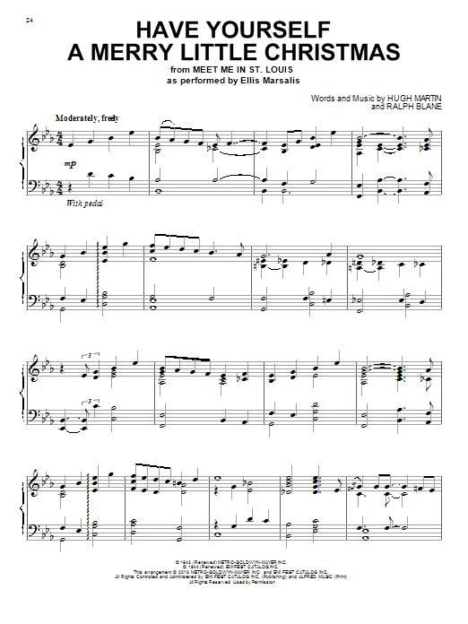 Have Yourself A Merry Little Christmas Chords.Have Yourself A Merry Little Christmas Piano Sheet Music Sam