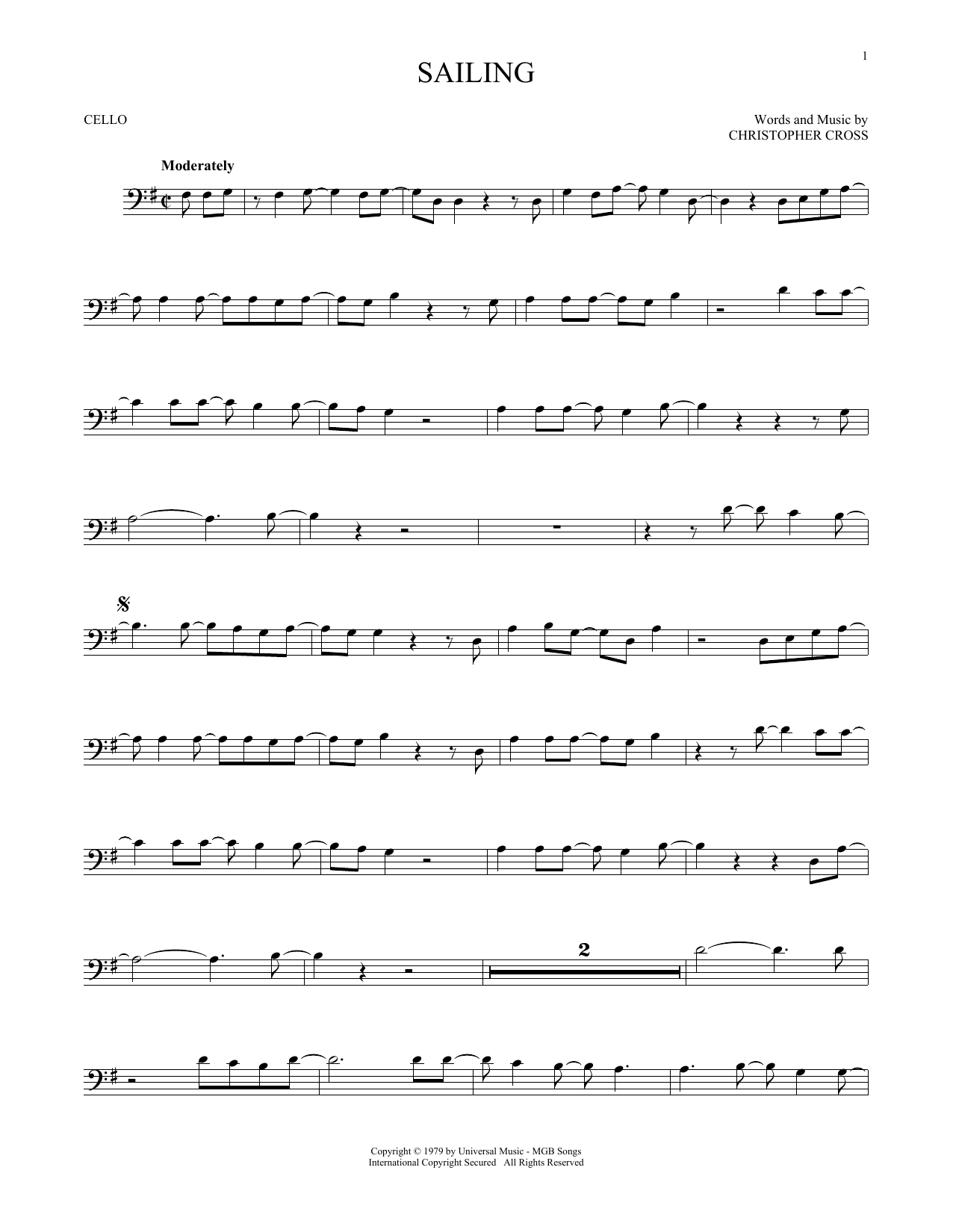 'N Sync Sailing sheet music notes and chords. Download Printable PDF.