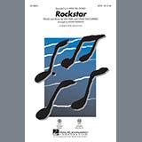 Download or print A Great Big World Rockstar (arr. Roger Emerson) - Bass Sheet Music Printable PDF 2-page score for Pop / arranged Choir Instrumental Pak SKU: 341608.