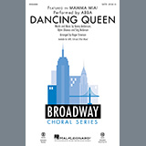 Download or print ABBA Dancing Queen (from Mamma Mia!) (arr. Roger Emerson) Sheet Music Printable PDF 10-page score for Pop / arranged 3-Part Mixed Choir SKU: 451833.