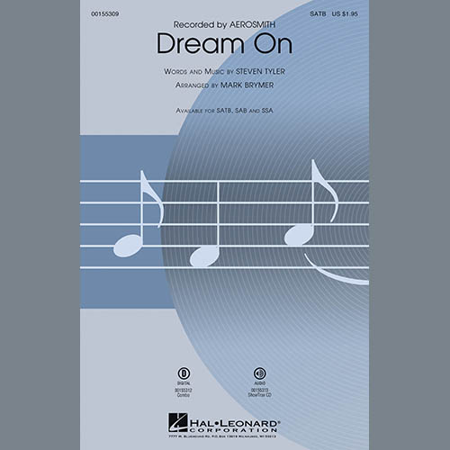 Easily Download Aerosmith Printable PDF piano music notes, guitar tabs for Choir Instrumental Pak. Transpose or transcribe this score in no time - Learn how to play song progression.