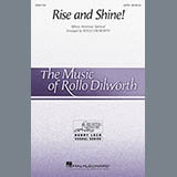 Download African-American Spiritual ''Rise And Shine! (arr. Rollo Dilworth)' Printable PDF 14-page score for Concert / arranged SATB Choir SKU: 415583.