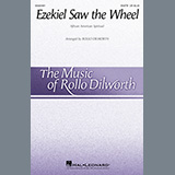 Download or print African American Spiritual Ezekial Saw The Wheel (arr. Rollo Dilworth) Sheet Music Printable PDF 13-page score for Concert / arranged SATB Choir SKU: 498448.