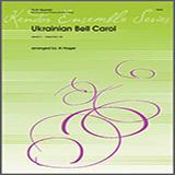 Download Al Hager 'Ukrainian Bell Carol - 1st Flute' Printable PDF 2-page score for Classical / arranged Brass Ensemble SKU: 325715.