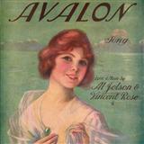 Download or print Al Jolson Avalon Sheet Music Printable PDF 1-page score for Jazz / arranged Real Book – Melody, Lyrics & Chords – C Instruments SKU: 60900.