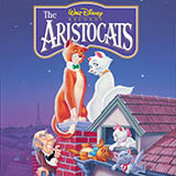 Download or print Al Rinker Ev'rybody Wants To Be A Cat (from The Aristocats) Sheet Music Printable PDF 2-page score for Disney / arranged Very Easy Piano SKU: 486398.