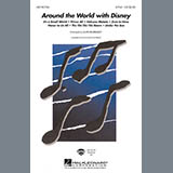Download or print Alan Billingsley Around The World With Disney (Medley) Sheet Music Printable PDF 29-page score for Disney / arranged 2-Part Choir SKU: 425422.