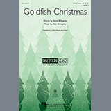 Download or print Alan Billingsley Goldfish Christmas Sheet Music Printable PDF 5-page score for Christmas / arranged 2-Part Choir SKU: 152473.