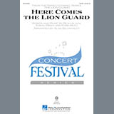 Download or print Alan Billingsley Here Comes The Lion Guard Sheet Music Printable PDF 15-page score for Children / arranged 2-Part Choir SKU: 171499.
