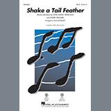 Download or print Alan Billingsley Shake a Tail Feather - Baritone Sax Sheet Music Printable PDF 1-page score for Oldies / arranged Choir Instrumental Pak SKU: 366689.