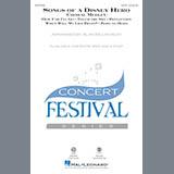 Download or print Alan Billingsley Songs of a Disney Hero Sheet Music Printable PDF 26-page score for Children / arranged 2-Part Choir SKU: 253938.