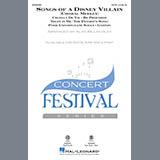 Download or print Alan Billingsley Songs Of A Disney Villain (Choral Medley) Sheet Music Printable PDF 19-page score for Disney / arranged 2-Part Choir SKU: 415529.