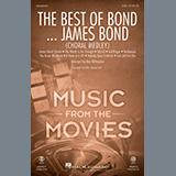 Download or print Alan Billingsley The Best of Bond... James Bond (Choral Medley) Sheet Music Printable PDF 18-page score for Pop / arranged SAB Choir SKU: 469793.