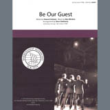 Download or print Alan Menken Be Our Guest (from Beauty and The Beast) (arr. Steve Delehanty) Sheet Music Printable PDF 6-page score for Barbershop / arranged TTBB Choir SKU: 407046.