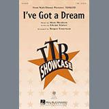 Download or print Alan Menken I've Got A Dream (from Disney's Tangled) (arr. Roger Emerson) Sheet Music Printable PDF 18-page score for Children / arranged TTBB Choir SKU: 177827.