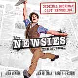 Download Alan Menken 'Seize The Day (from Newsies The Musical) (arr. Phillip Keveren)' Printable PDF 4-page score for Disney / arranged Educational Piano SKU: 417465.