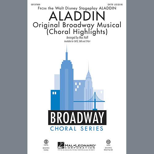 Alan Menken & Howard Ashman, Aladdin (Choral Highlights) (from Aladdin: The Broadway Musical) (arr. Mac Huff) - Bb Trumpet 1, Choral Instrumental Pak