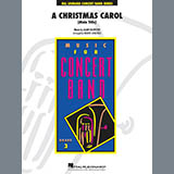 Download or print Alan Silvestri A Christmas Carol (Main Title) (arr. Robert Longfield) - Bb Bass Clarinet Sheet Music Printable PDF 2-page score for Holiday / arranged Concert Band SKU: 419856.