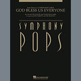 Download Alan Silvestri 'God Bless Us Everyone - Bb Bass Clarinet' Printable PDF 2-page score for Christmas / arranged Full Orchestra SKU: 296352.