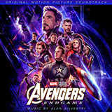 Download Alan Silvestri 'Portals (from Avengers: Endgame)' Printable PDF 3-page score for Film/TV / arranged Piano Solo SKU: 416053.