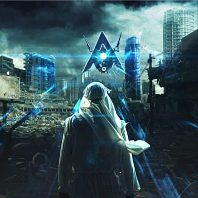 Alan Walker, Darkside (featuring Au/Ra and Tomine Harket), Piano, Vocal & Guitar (Right-Hand Melody)