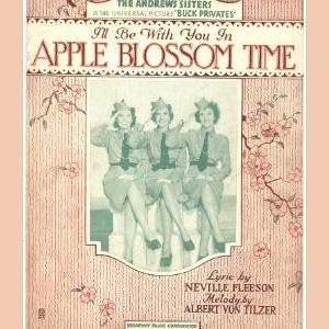 Albert Von Tilzer, I'll Be With You In Apple Blossom Time, Easy Piano