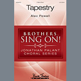 Download or print Alec Powell Tapestry Sheet Music Printable PDF 12-page score for Festival / arranged TTBB Choir SKU: 195552.